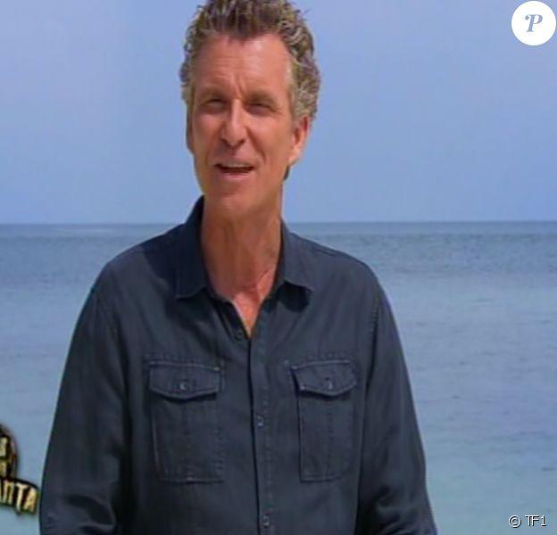 Denis Brogniart, célèbre présentateur de Koh-Lanta sur TF1. Episode diffusé le 12 septembre 2014.
