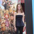 Elle Fanning (en Oscar de la Renta) à la première du film Les Boxtrolls à Universal City, Los Angeles, le 21 septembre 2014.