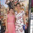 Amy Brenneman et sa fille Charlotte à la première du film Les Boxtrolls à Universal City, Los Angeles, le 21 septembre 2014.