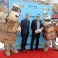 Anthony Stacchi, Graham Annable à la première du film Les Boxtrolls à Universal City, Los Angeles, le 21 septembre 2014.