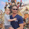 Ian Ziering et sa fille Mia à la première du film Les Boxtrolls à Universal City, Los Angeles, le 21 septembre 2014.