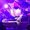 Jennifer Lopez lors de son concert à Singapour à l'occasion du Grand Prix de Formule 1 le 21 septembre 2014