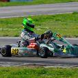Mick Junior Schumacher (312) disputait les WSK Super Master Serie à Muro Leccese sur le circuit de La Conca en Italie le 27 avril 2014