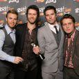 Take That aux Brit Awards à Londres, le 20 février 2008.