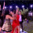 La Voix fait ses adieux aux finalistes dans la finale de Secret Story 8, le vendredi 26 septembre 2014, sur TF1
