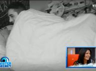 Secret Story 8 - Nathalie et Vivian : Des images hot sous la couette diffusées