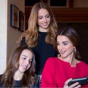 Rania de Jordanie : Sublime avec ses filles Iman et Salma pour leur anniversaire