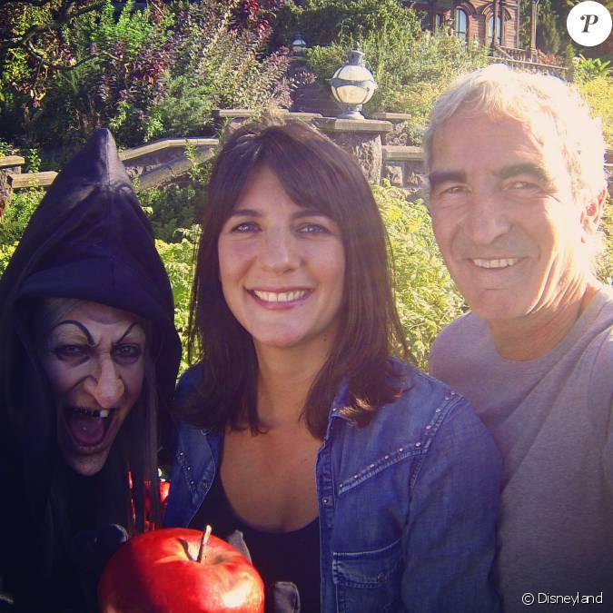 Estelle denis et raymond domenech assistent la soir e de lancement des animateurs de halloween - Raymond domenech estelle denis ...