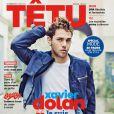 Xavier Dolan en couverture de Têtu, numéro d'octobre 2014.