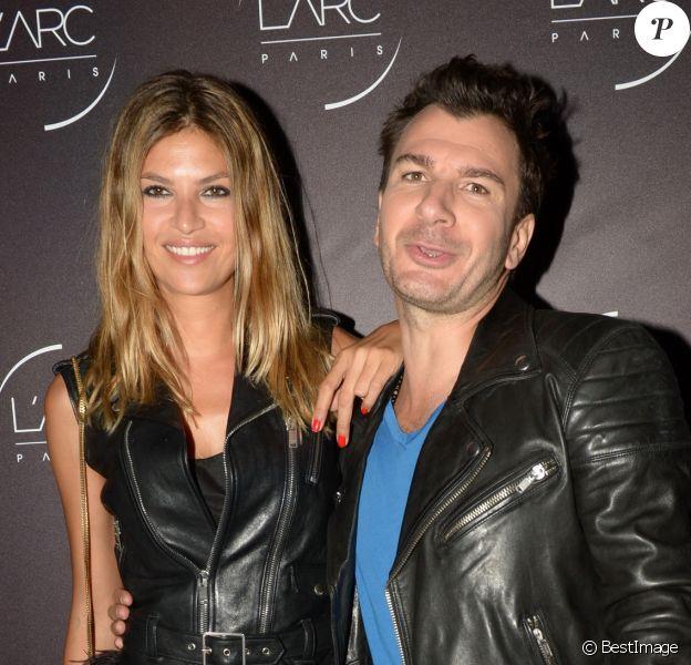 Michaël Youn et sa compagne Isabelle Funaro - Inauguration du club L'Arc à Paris le 2 octobre 2014.