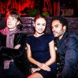 Mick Jagger, Olga Kurylenko et Lenny Kravitz réunis pour l'ouverture de l'Arc à Paris le 2 octobre 2014