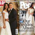 Les photos des mariés dévoilées par People et Hello !