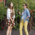 """"""" Exclusif - Teri Hatcher et sa fille Emerson, complices, sont allées déjeuner à Studio City, le 3 octobre 2014. """""""