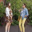 """"""" Exclusif - Teri Hatcher et sa fille Emerson sont allées déjeuner à Studio City, le 3 octobre 2014. """""""
