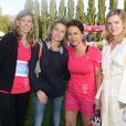 Delphine Bürkli (Maire du 9e arrondissement de Paris) au Triathlon des Roses dans le Domaine National de Saint-Cloud le 4 octobre 2014.