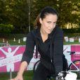 Zoé Felix au Triathlon des Roses dans le Domaine National de Saint-Cloud le 4 octobre 2014.