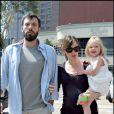 Ben Affleck et Jennifer Garner, et leur fille Violet