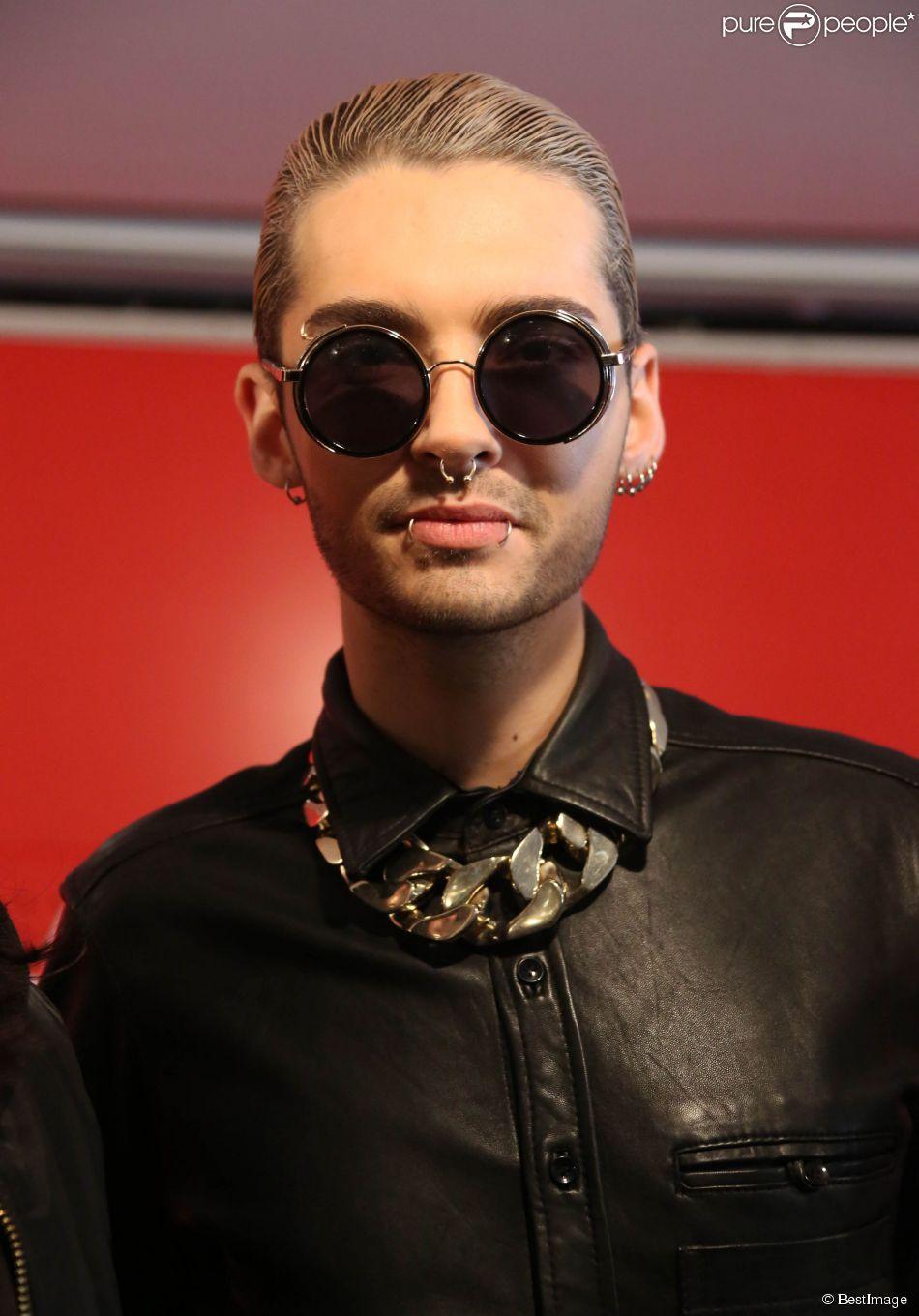 Exclusif - Bill Kaulitz - Le groupe Tokio Hotel en dédicaces à la Fnac Saint-Lazare à Paris, le 9 octobre 2014