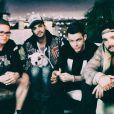 Les membres de Tokio Hotel, le 14 mars 2014