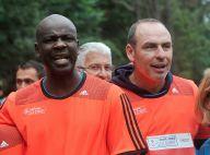 Laurent Blanc et Lilian Thuram: Retrouvailles sportives pour les Bleus retraités