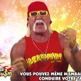 Hulk Hogan dans un spot pour le jeu Crazy Taxi City Rush - octobre 2014