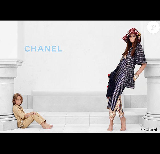 Campagne Chanel avec Hudson Kroenig et Joan Smalls