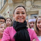Sandrine Quétier et Dounia Coesens : Marraines de charme de retour à l'école