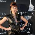 Frédérique Bel - Révélation du gagnant des Invictus Awards Saison 2 par Paco Rabanne au Palais de Tokyo à Paris le 16 octobre 2014