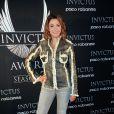 Sandrine Quétier - Révélation du gagnant des Invictus Awards Saison 2 par Paco Rabanne au Palais de Tokyo à Paris le 16 octobre 2014