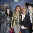 Sandrine Quétier et Ariane Massenet - Générale de la comédie musicale Le Bal des Vampires, au théâtre Mogador à Paris, le 16 octobre 2014