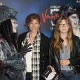 Florence Pernel et sa fille Tina - Générale de la comédie musicale Le Bal des Vampires, au théâtre Mogador à Paris, le 16 octobre 2014