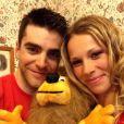 Marion Rousse et Tony Gallopin, photo publiée sur le compte Twitter de Marion Rousse le 13 juillet 2014