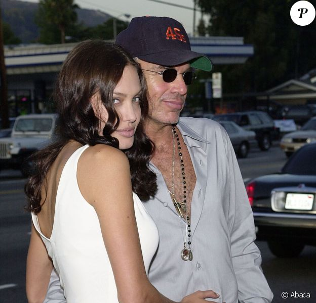 Angelina Jolie et Billy Bob Thornton à Los Angeles le 13 août 2003