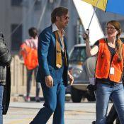 Ryan Gosling, jeune papa au look seventies face à Russell Crowe bedonnant