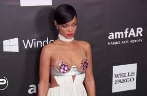 Rihanna, Miley Cyrus, Lea Michele : Diablement sexy à l'amfAR avec Sharon Stone