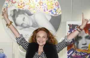 Diane von Furstenberg : Nouvelle reine de la télé, elle cherche sa perle rare...