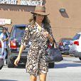 Nikki Reed est allée chercher un café au Starbucks à Hollywood, le 9 octobre 2014.