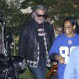 Kurt Russell - Soirée d'Halloween oragnisée par Kate Hudson, le 30 octobre 2014 à Los Angeles.