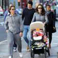 Tamara Ecclestone et Jay Rutland et leurs filles Sophiaà Londres, le 5 octobre 2014