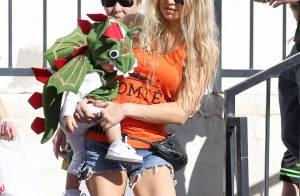 Fergie : Premiers pas de son petit Axl, craquant dinosaure pour Halloween !