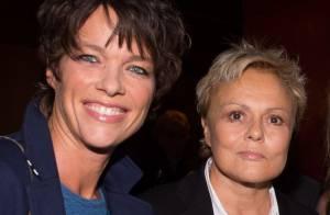 Muriel Robin et sa compagne Anne Le Nen admiratives du combat de Soad Bogdary