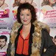 """Anne Roumanoff - 150e représentation de la pièce """"Je préfère qu'on reste amis"""" au théâtre Antoine, à Paris, le 5 novembre 2014."""