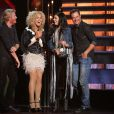 Little Big Town sur la scène des CMA Awards à Nashville, le 5 novembre 2014.