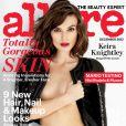 Keira Knightley en couverture du magazine Allure en décembre 2012