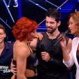 Fauve Hautot et Miguel Angel Munoz  dans Danse avec les stars 5, sur TF1, le samedi 8 novembre 2014