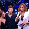 Rayane Bensetti et Denitsa Ikonomova  dans Danse avec les stars 5, sur TF1, le samedi 8 novembre 2014