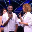 Corneille et Candice Pascal  dans Danse avec les stars 5, sur TF1, le samedi 8 novembre 2014