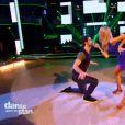 Tonya Kinzinger/Maxime Dereymez et Miguel Angel Munoz/Fauve Hautot dansent ensemble pour l'épreuve des duos  dans Danse avec les stars 5, sur TF1, le samedi 8 novembre 2014