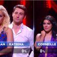 Corneille et Candice Pascal sont éliminés  dans Danse avec les stars 5, sur TF1, le samedi 8 novembre 2014