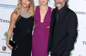 Kate Hudson : Magnifique sirène aux côtés de ses parents et de son frère